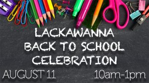 Lackawanna Back to School Celebration