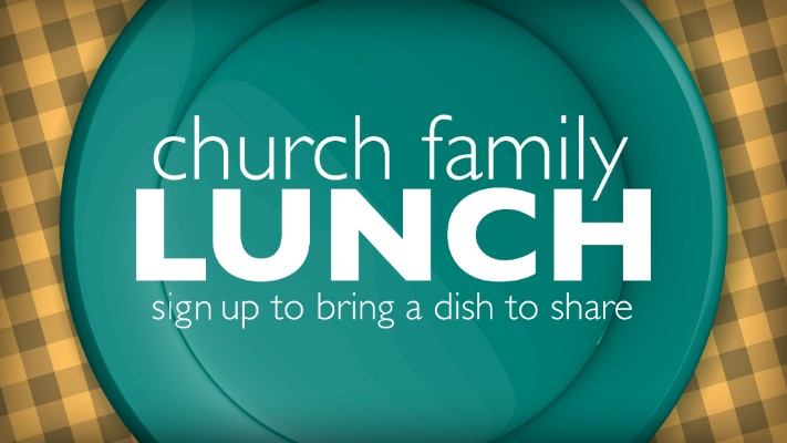 Church Family Lunch – October 14