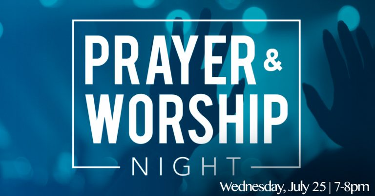 Prayer & Worship Night